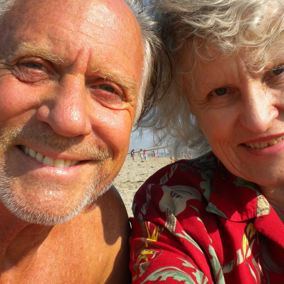 Boyd Willat and Susan Sailow on Venice Beach, before the Reunion